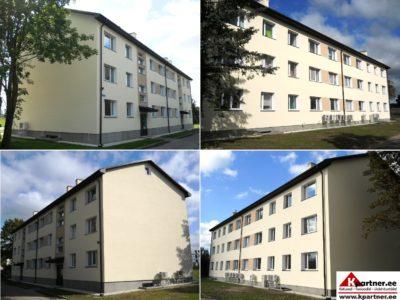Kortermaja renoveerimine, soojustamine, renoveerimisprojekt, kredex