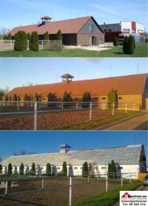 Kivikatuse paigaldus, ehitus, müüriladumistood