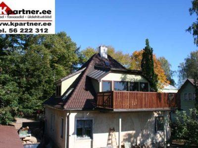 Katusetööd, Kivikatuse paigaldus, katuse ehitus