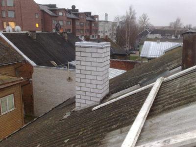 Katusetööd, katuse paigaldamine, fassaaditööd, korstnate, ladumine, korstnapitsi remont, üldehitustööd