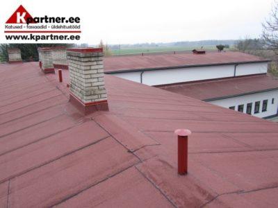 Katusetööd, viil- ja lamekatusetööd, renoveerimine, remont