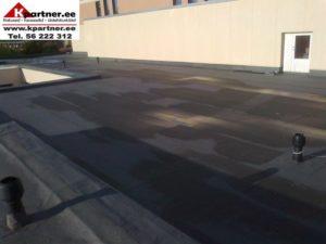 Lamekatuste soojustamine sbs katus