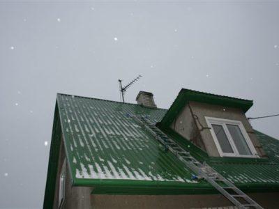 Katusetööd, katuse paigaldamine, viilkatuse, ehitus, ehitamine, remont