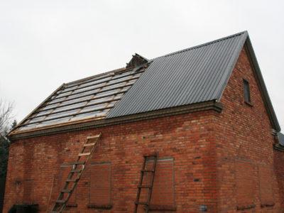 Katusetööd, katuse paigaldamine, plekkkatuse, ehitus, paigaldus, remont, ehitamine, vahetus