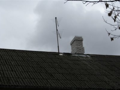 Vana korstnapitsi demontaaz ja uue ehitus