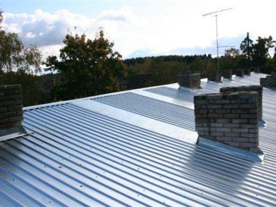 Katusetööd, Profiilpleki paigaldus, katuse renoveerimine