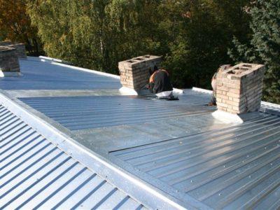 Katusetööd, katuse ehitus, trapetsprofiil katuseplekk, plekkkatuse paigaldus, plekk katuse vahetus ja renoveerimine