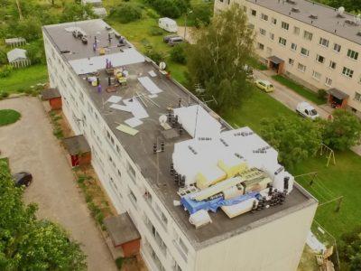 Lamekatuse-ehitus-kortermaja